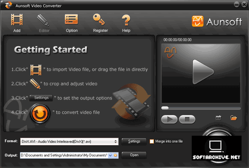 Aunsoft Video Converter indir
