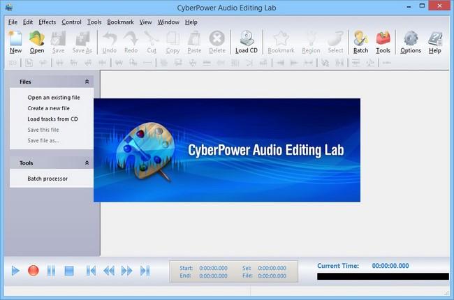 CyberPower Audio Editing Lab Full indir