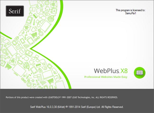 Serif WebPlus X Full indir