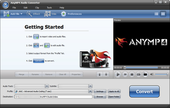 AnyMP Audio Converter Full indir