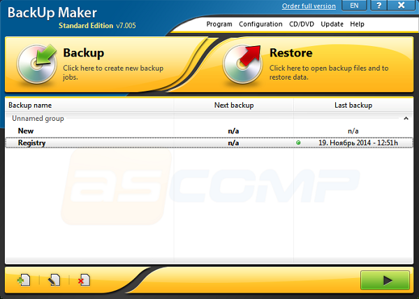 BackUp Maker Standard Edition Full indir