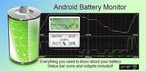 Battery Monitor Widget Pro Apk Full