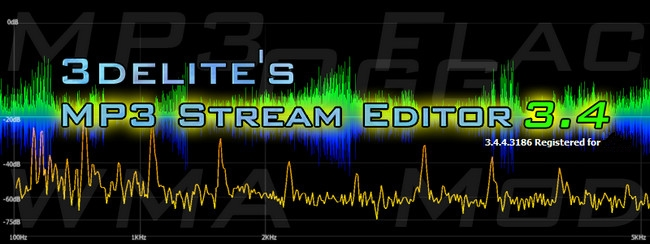 3delite MP3 Stream Editor Full