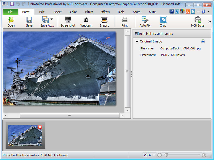 NCH PhotoPad image Editor Pro Full indir