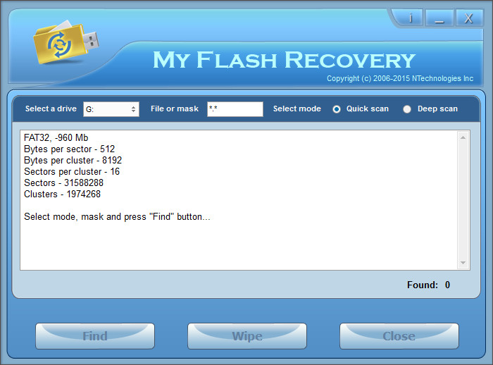 NTechnologies My Flash Recovery Full indir