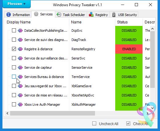 Windows Privacy Tweaker Full indir