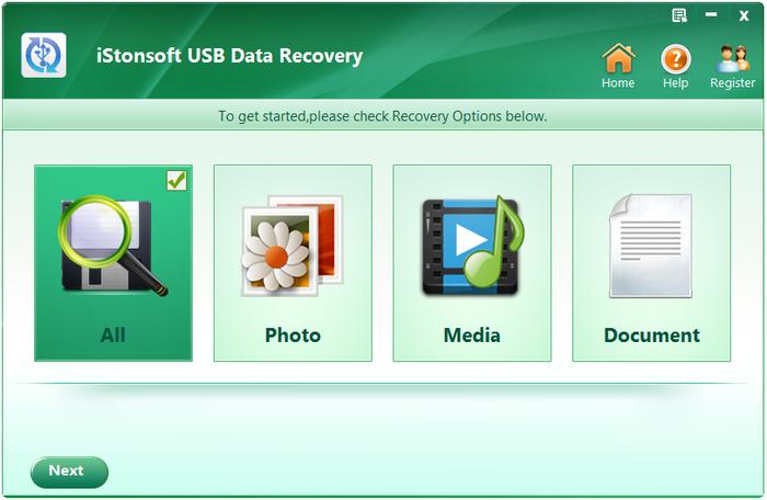 iStonsoft USB Data Recovery full indir