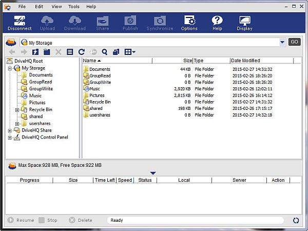 DriveHQ FileManager Full İndir