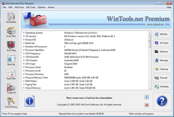 WinTools net Premium full indir
