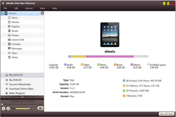 Media iPad Max Platinum Full indir