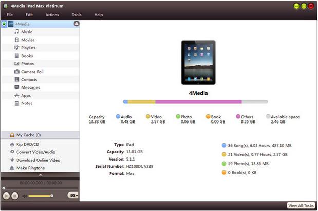Media iPad Max Platinum Full indir