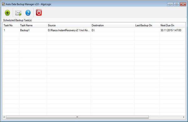 Auto Data Backup Manager Full indir