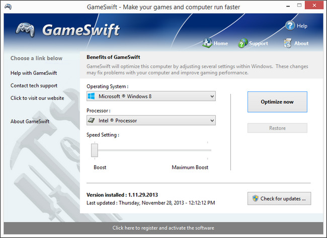 PGWare GameSwift Full