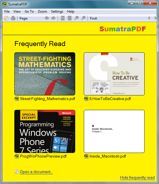 Sumatra PDF Türkçe Ücretsiz