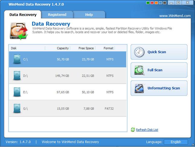 WinMend Data Recovery Full