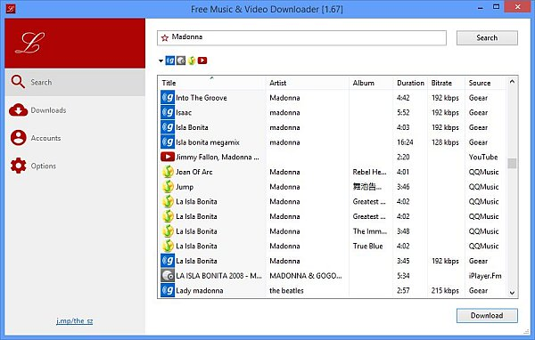 Free Music and Video Downloader Full