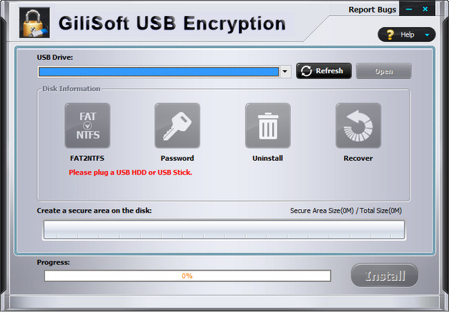 GiliSoft USB Stick Encryption Full İndir