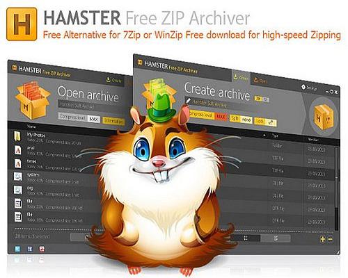 Hamster Free ZiP Archiver Full indir
