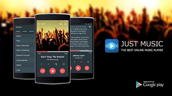Just Music Player Pro Full Apk indir