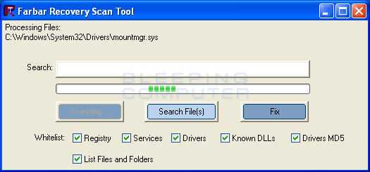 Farbar Recovery Scan Tool Full