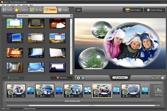 Photo Slideshow Creator Türkçe Full İndir
