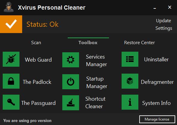 Xvirus System Cleaner Pro Full