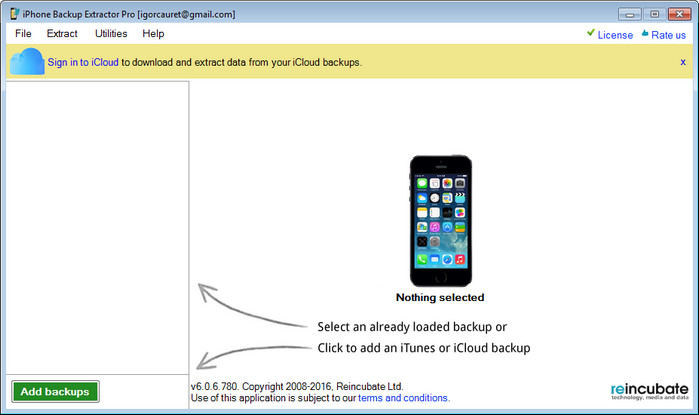 iPhone Backup Extractor Pro Full indir