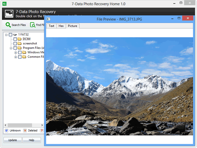 Data Photo Recovery Full indir