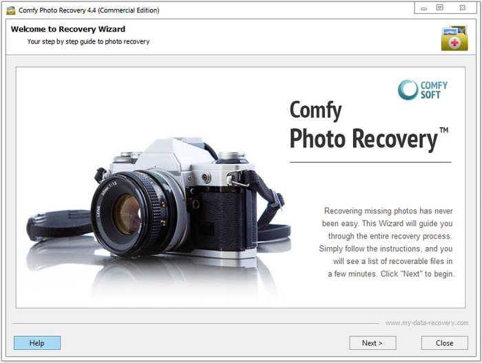 Comfy Photo Recovery Full