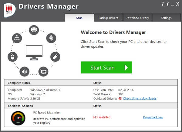 Drivers Manager indir