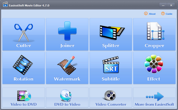 EasiestSoft Movie Editor Full indir