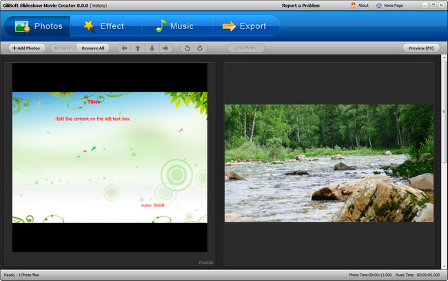 GiliSoft SlideShow Movie Creator indir