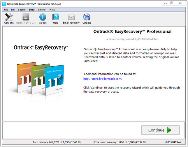 Ontrack EasyRecovery Pro Full indir