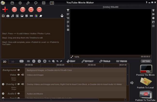 RZsoft YouTube Movie Maker Platinum indir