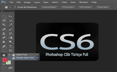 Photoshop CS6 Full Türkçe