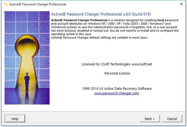 Active Password Changer Pro Full