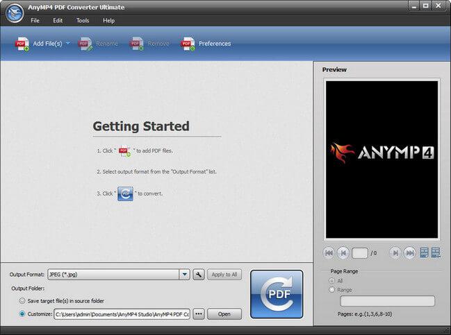 AnyMP4 PDF Converter Ultimate Full