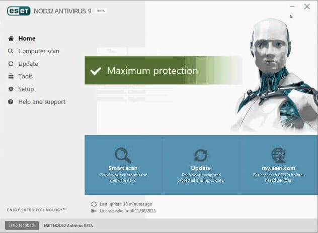 ESET NOD32 Antivirüs Full