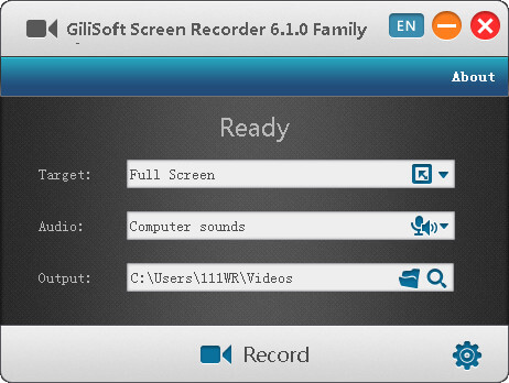 Gilisoft Screen Recorder indir