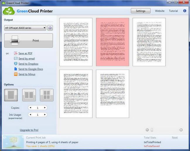 GreenCloud Printer Pro Full