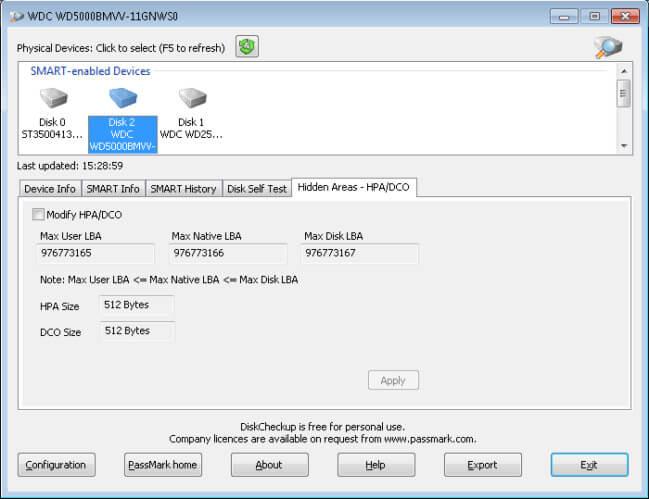 Passmark DiskCheckup Full