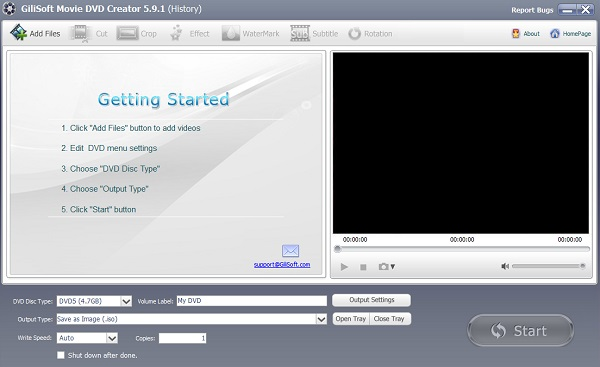 GiliSoft Movie DVD Creator Full