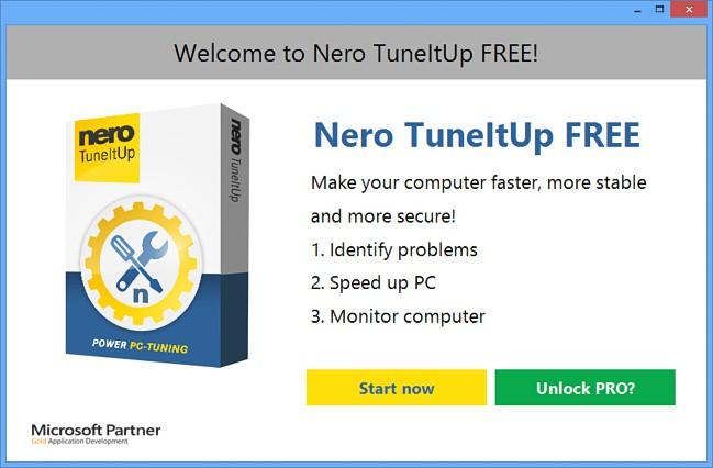 Nero TuneItUp Free