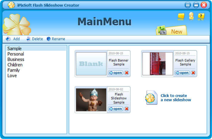 iPixSoft Flash Slideshow Creator Full