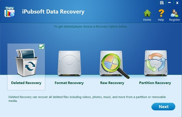 iPubsoft Data Recovery Full indir