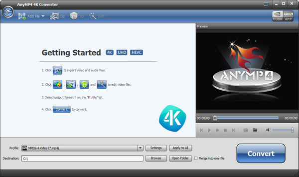 AnyMP4 4K Converter Full