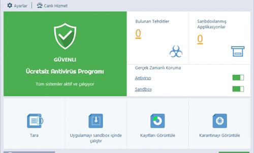 Comodo Cloud Antivirus indir