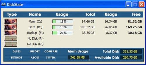 DiskState Full