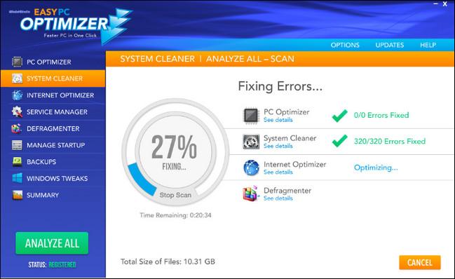 Easy PC Optimizer Full