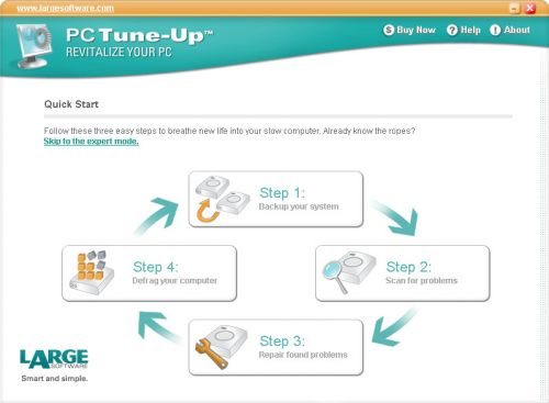 LargeSoftware PC Tune-Up Full